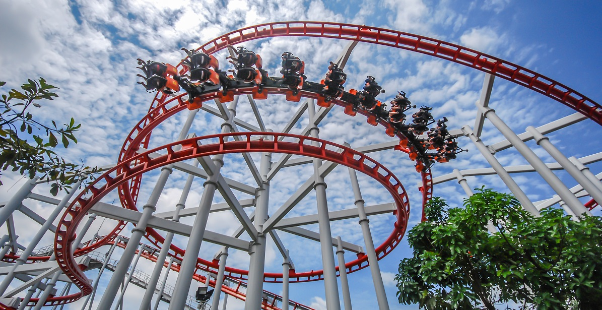 The rollercoaster ride of the entrepreneur