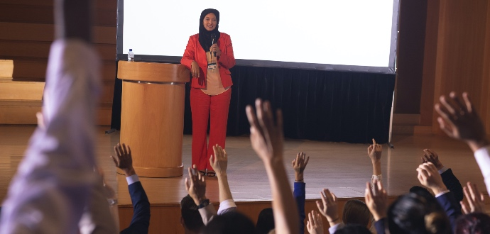 Five ways that public speaking could benefit your business