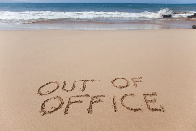 Out of office: using your holiday auto-response to increase visibility and stamp your personal brand