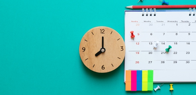 5 Minutes to better time-management skills