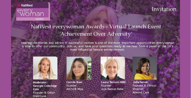 Achievement Over Adversity: NatWest everywoman Awards Launch Event