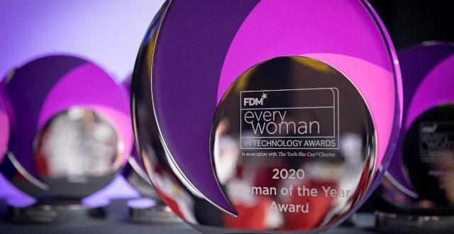 Nomination Extension - FDM everywoman in Technology Awards nomination