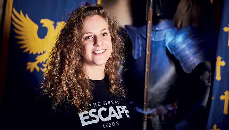Hannah Duraid, Founder of Great Escape Game: Only send positive or informative emails.